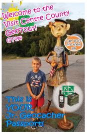 Junior Geocacher Passport Front Page