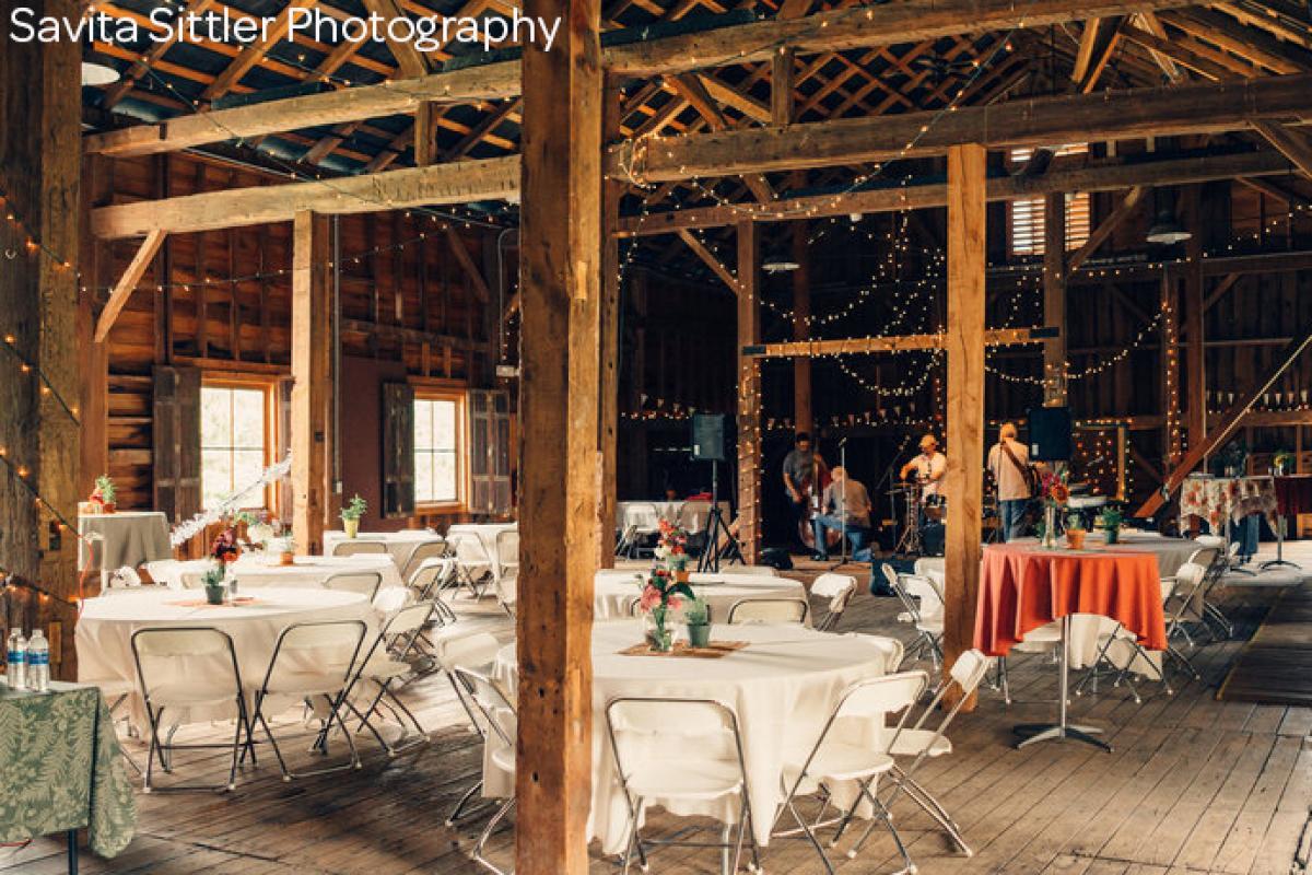 Marsh Rentals Decorated Barn