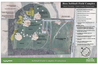 Hess Softball Complex Site Plan Image
